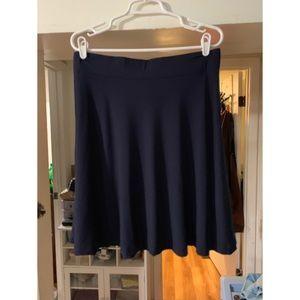 Loft • Navy Blue • Circle Skirt